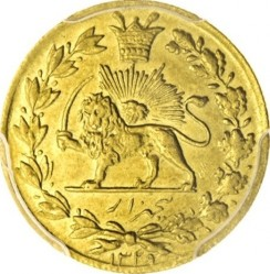 Minca > 5000dinars, 1910-1912 - Irán  - obverse