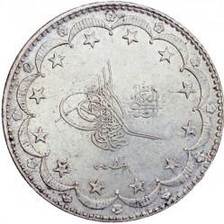 Münze > 20Kuruş, 1909 - Osmanisches Reich  - obverse