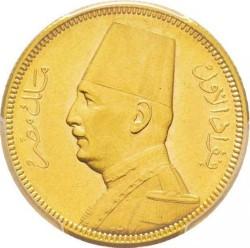 Монета > 100піастрів, 1929-1930 - Єгипет  - obverse