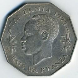 Монета > 5шилінгiв, 1972-1980 - Танзанія  - obverse