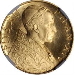 Moneta > 100lirów, 1951-1955 - Watykan  - obverse