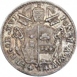 Монета > 5байокко, 1835-1846 - Папська область  - obverse