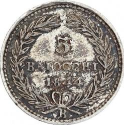 Монета > 5байокко, 1835-1846 - Папська область  - reverse
