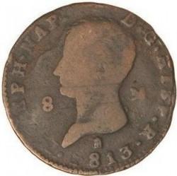 Монета > 8мараведи, 1809-1813 - Испания  - obverse