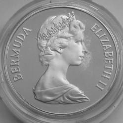 Moneta > 1dolar, 1981 - Bermudy  (Ślub Księcia Karola i Księżnej Diany) - obverse
