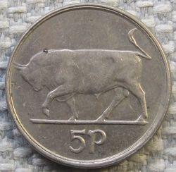 سکه > 5پنس, 1995 - ایرلند  - obverse
