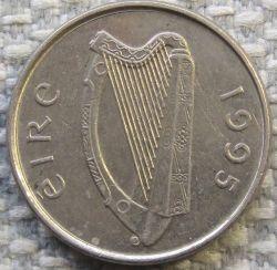 سکه > 5پنس, 1995 - ایرلند  - reverse