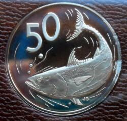Moneta > 50centesimi, 1972-1983 - Cook (Isole)  - reverse
