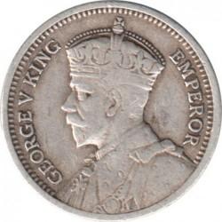 Монета > 3пенса, 1932-1936 - Южная Родезия  - obverse