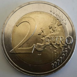 Moneda > 2 euros, 2018 - Letonia  (100th Anniversary - Baltic States) - reverse