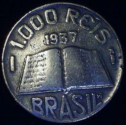 Moneda > 1000réis, 1936-1938 - Brasil  - reverse