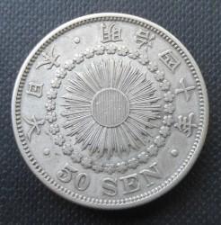 Coin > 50sen, 1906-1912 - Japan  - obverse