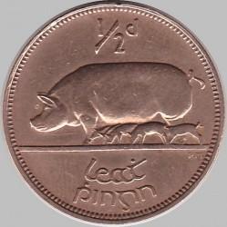 Moneda > ½penny, 1928-1937 - Irlanda  - reverse