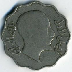 Moneda > 4fils, 1931-1933 - Irak  - obverse