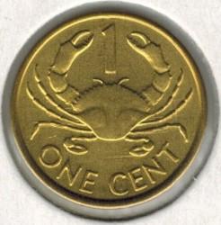 Монета > 1цент, 1982-2004 - Сейшелските острови  - reverse