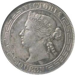 Mynt > ½dollar, 1866-1868 - Hong Kong  - obverse