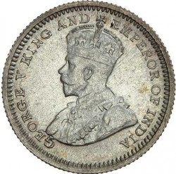 Mynt > 5cents, 1932-1933 - Hong Kong  - obverse