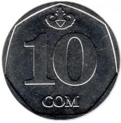 Coin > 10som, 2009 - Kyrgyzstan  - reverse