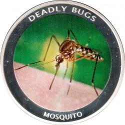 Moneta > 1000kwacha, 2010 - Zambia  (Deadly Bugs - Mosquito) - reverse