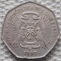 Moneta > 1000dobras, 1997 - São Tomé e Príncipe  - obverse