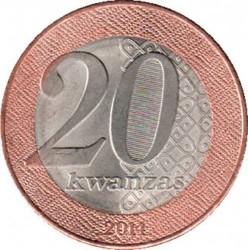 Monedă > 20kwanza, 2014 - Angola  - reverse