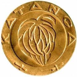 錢幣 > 1法郎, 1961 - 卡坦加國  - obverse