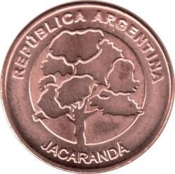 硬币  /> 1披索, 2017-2019 - 阿根廷 - obverse