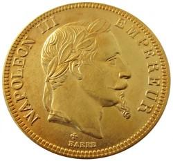 Moneta > 100franchi, 1862-1870 - Francia  - obverse