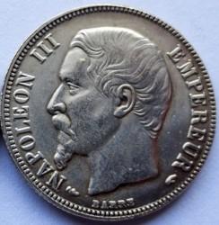 Moneta > 1franco, 1853-1863 - Francia  - obverse