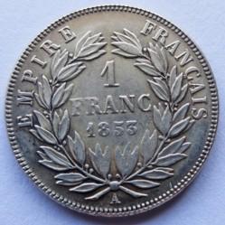 Moneta > 1franco, 1853-1863 - Francia  - reverse
