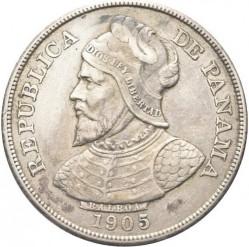 Moneta > 50sentesimų, 1904-1905 - Panama  - obverse