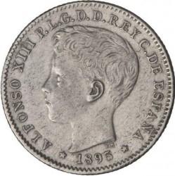 Монета > 20сентавос, 1895 - Пуерто Рико  - obverse