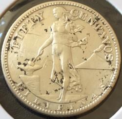 Νόμισμα > 50Σεντάβος, 1907-1921 - Φιλιππίνες  - reverse