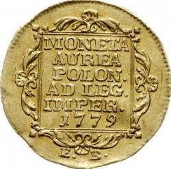 Münze > 1Dukaten, 1772-1779 - Polen  - reverse