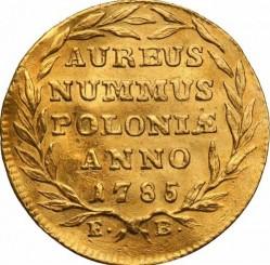 מטבע > 1דוקאט, 1784-1786 - פולין  - reverse