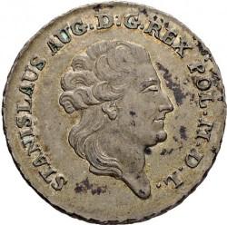 מטבע > 8גרושכסף, 1783-1785 - פולין  - obverse