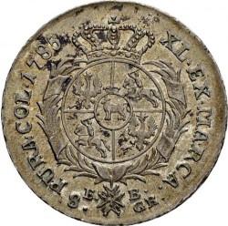 מטבע > 8גרושכסף, 1783-1785 - פולין  - reverse