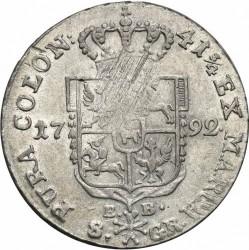 Coin > 8silvergroszy, 1787-1795 - Poland  - reverse
