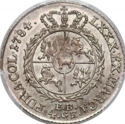 Monēta > 4silvergrosze, 1783-1786 - Polija  - reverse