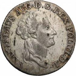 מטבע > 4גרושכסף, 1783-1786 - פולין  - obverse