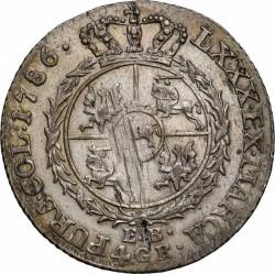 מטבע > 4גרושכסף, 1783-1786 - פולין  - reverse