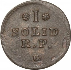 מטבע > 1סוליד, 1766-1792 - פולין  - reverse