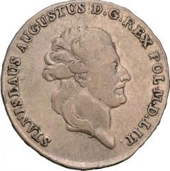 Monēta > ½talara, 1783-1784 - Polija  - obverse