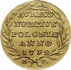 Coin > 1dukat, 1780-1795 - Poland  - reverse