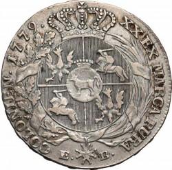 Монета > ½талер, 1767-1782 - Полша  - reverse