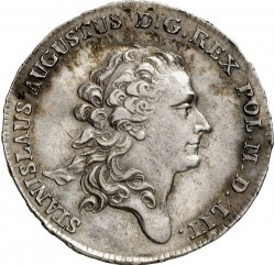 Монета > ½талер, 1767-1782 - Полша  - obverse