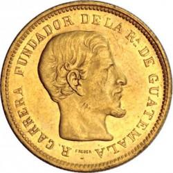 Монета > 10песо, 1869 - Гватемала  - obverse