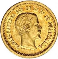 Moneta > 2pesos, 1859 - Guatemala  - obverse