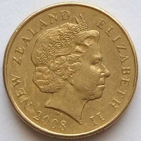Coin 1 Dollar 1999 2017 New Zealand Obverse