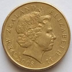 Монета > 1доллар, 1999-2019 - Новая Зеландия  - obverse